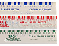 Click for a larger picture of Plastigauge Engine Bearing Clearance Checker