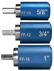 Click for a larger picture of KOUL Tools Fitting Fixers, Large Set (10AN to 16AN)