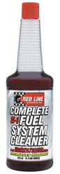 Click for a larger picture of Red Line SI-1 Complete Fuel System Cleaner