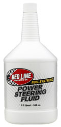 Click for a larger picture of Red Line Power Steering Fluid