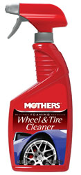 Click for a larger picture of Mothers Foaming Wheel and Tire Cleaner, 24oz