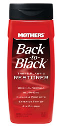 Click for a larger picture of Mothers Back to Black Trim and Plastic Restorer