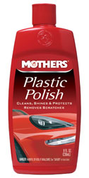 Click for a larger picture of Mothers Plastic Polish, 8oz
