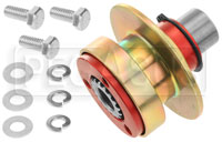 "Click for a larger picture of Splined Quick-Release Steering Hub Assembly, 5/8"" Alum/Stl"