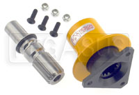 "Click for a larger picture of F-1 Splined Quick Release Steering Hub, 5/8"" Shaft"