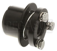 Click for a larger picture of Economy Aluminum Hex Type Quick-Release Steering Hub Only