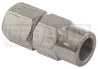 Click for a larger picture of Steel Center Hex for Economy QR Steering Hub, 5/8 Bore