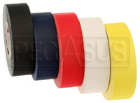 "Click for a larger picture of Matte Gaffer's Tape, 2"" x 55 Yard Roll, specify color"