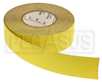 Click for a larger picture of Non-Skid Tape - Yellow, 2 inch x 60 foot Roll