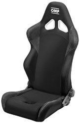 Click for a larger picture of (SL) OMP STYLE Tube Frame Tuning Seat, Black