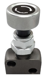 Click for a larger picture of OBP Brake Bias Adjuster Valve, Screw Type, 1/8 NPT Ports