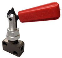 Click for a larger picture of OBP Brake Bias Adjuster Valve, Lever Type, 1/8 NPT Ports