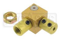 Click for a larger picture of Tilton Right Angle Coupler for 3/8-24 Bias Adjuster Cable
