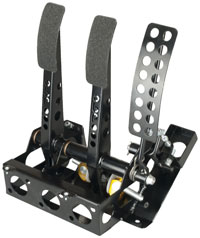 Click for a larger picture of OBP Track Pro 3-Pedal Box w/o MC, Mitsubishi Evo