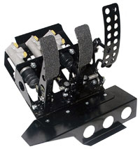 Click for a larger picture of OBP Track Pro 3-Pedal Box w/MC, BMW E36 RHD