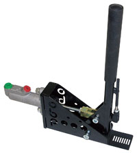 "Click for a larger picture of OBP Hydraulic Handbrake, 11"" Vertical Locking, Steel"