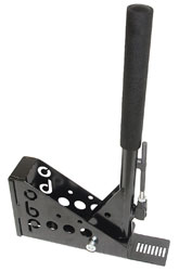 "Click for a larger picture of OBP Hydraulic Handbrake, 11"" Vertical Locking Steel, no MC"