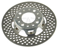 Click for a larger picture of Lightweight Two-Piece Brake Rotor Assembly