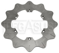 Click for a larger picture of TDI Grooved and Scalloped Brake Disc Only