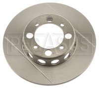 Click for a larger picture of Brake Rotor, DB1/DB3, VD 4-bolt (LD19), Grooved & Lightened