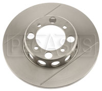 Click for a larger picture of Brake Rotor, DB2/DB3 w/LD20, Solid, F&R, Grooved & Lightened