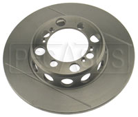 Click for a larger picture of Brake Rotor, VD FF Centerlock to 1993, Grooved & Lightened