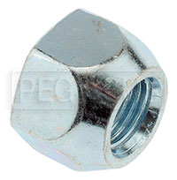 Click for a larger picture of GM Non-Metric Steel Lug Nut, 7/16-20 Thread x 3/4 Hex