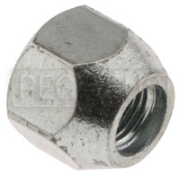 Click for a larger picture of Triumph Steel Lug Nut, 3/8-24 Thread x 11/16 Hex