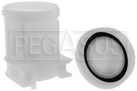 Click for a larger picture of Large Brake Fluid Reservoir, Single 5/16 Push-On