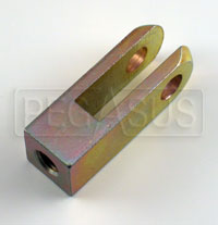 "Click for a larger picture of Steel Clevis Only for 5/16-24 Pushrod, 5/16"" Hole"