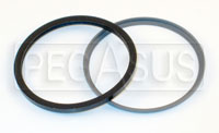 Click for a larger picture of Lockheed Caliper Dust Seal with Retainer