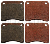 Click for a larger picture of MSE Grab Racing Brake Pads, FF, LD19 (CP2195, Gem)