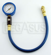 Click for a larger picture of Intercomp 2 inch Deluxe Tire Pressure Gauge, 0-15 psi