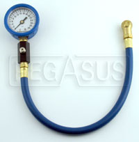 Click for a larger picture of Intercomp 2 inch Deluxe Tire Pressure Gauge, 0-30 psi