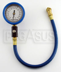 "Click for a larger picture of Intercomp 2.5"" Liquid Filled Tire Pressure Gauge, 0-15 psi"