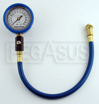 "Click for a larger picture of Intercomp 2.5"" Liquid Filled Tire Pressure Gauge, 0-30 psi"