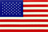 "Click for a larger picture of USA ""Stars and Stripes"" Flag Decal"