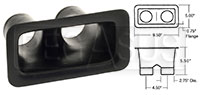 Click for a larger picture of Air Inlet, Small Bumper Mount  (2 Outlet)