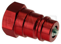 Click for a larger picture of Male Quick-Disconnect Coupling, 1/2 NPT Female Thread