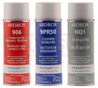 Click for a larger picture of (HAO) Visible Dye Penetrant Crack Testing Kit