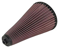 Click for a larger picture of K&N Cone Air Filter: Lola Sports 2000, Long (5.87 x 10)