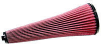 Click for a larger picture of K&N Cone Air Filter: Swift Sports 2000 (5.75 x 16)