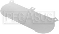 Click for a larger picture of Blank Baseplate Only for ITG JC40 Megaflow Air Filter, each