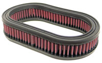 Click for a larger picture of K&N Filter Element, Large Oval (5.5 W x 9 L x 1.75 H)