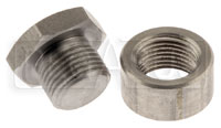 Click for a larger picture of Stainless Steel Sensor Plug & Weld Bung for O2 Sensor