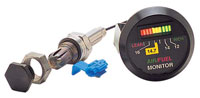 Click for a larger picture of K&N Fuel/Air Monitor Kit, Round