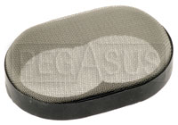Click for a larger picture of Custom Screen Filter for DGV Carburetor Air Horn