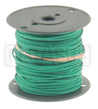 Click for a larger picture of Wire, 18 Gauge - Green