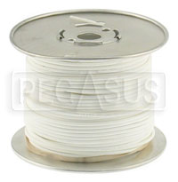 Click for a larger picture of Wire, 18 Gauge - White