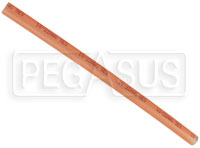 "Click for a larger picture of 6"" Adhesive Lined Heat Shrink Tube, 20-18 Ga Translucent Red"